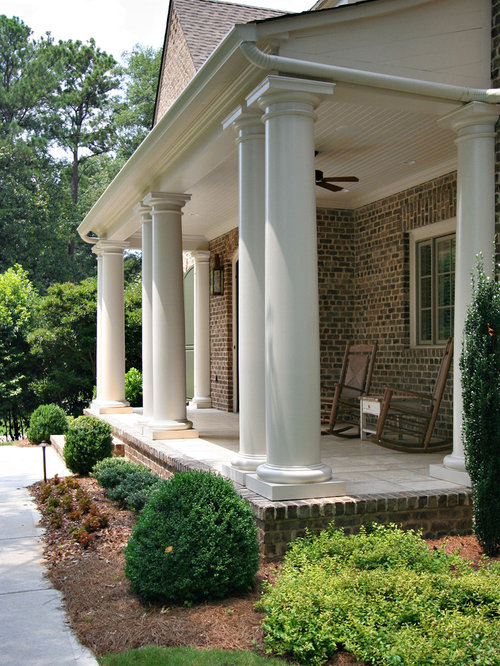 Permacast columns houzz for Permacast columns