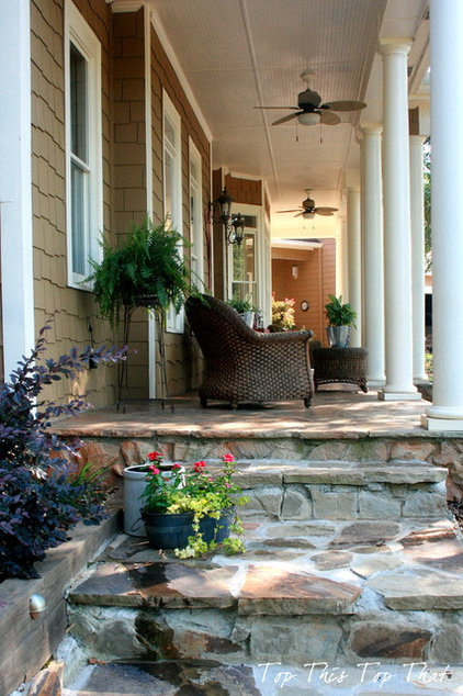 Traditional Porch by Top This Top That