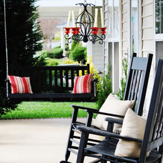 Traditional Porch by Dwell by Cheryl Interiors