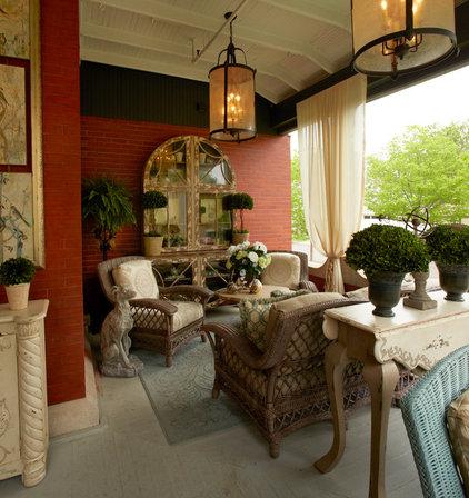 Traditional Porch by Gabberts Design Studio