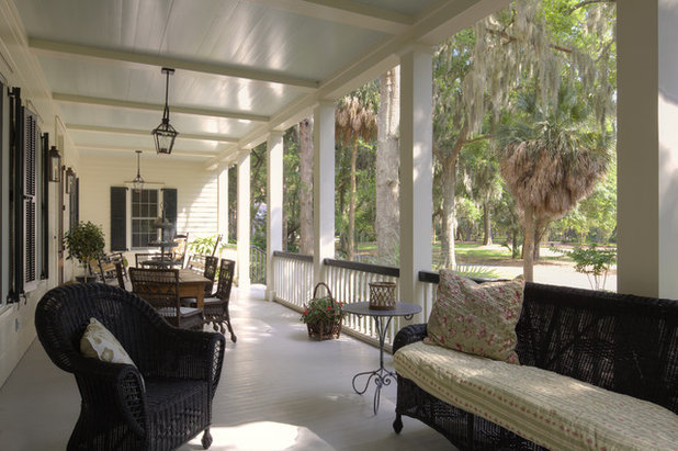 Dream Spaces Gracious Spacious Front Porches