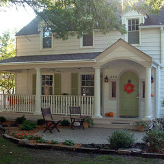 traditional porch by Kaufman Construction Design and Build