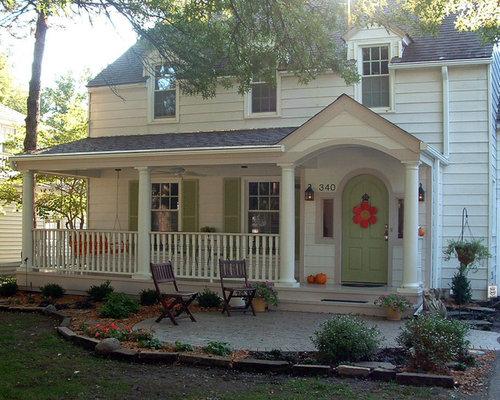 Porch extension houzz Porch extension