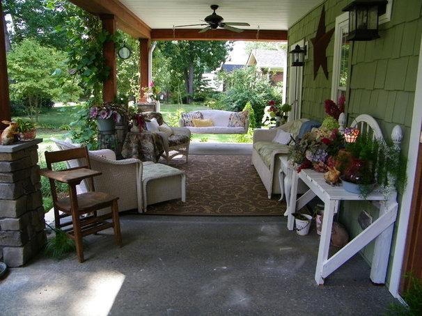 Craftsman Porch Front Porch Makeover Summer 2010