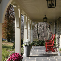 traditional porch by Melville Thomas Architects, Inc.