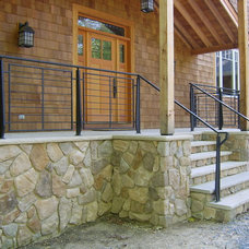 Contemporary Porch by Capozzoli Metalworks