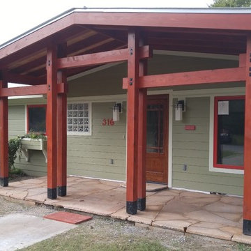 Front Porch Remodel 2017