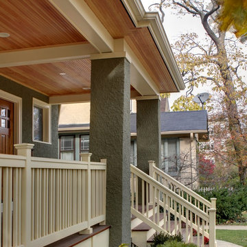 Front Porch Remodeling Projects by Roberts Design Build