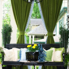 Traditional Porch by Pat & Toot Interiors