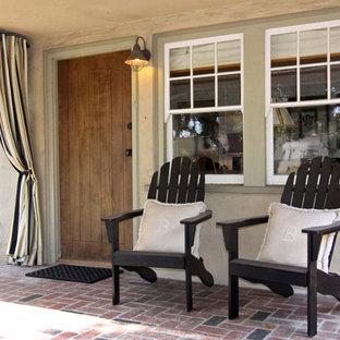 Tuscan front porch idea in Orange County