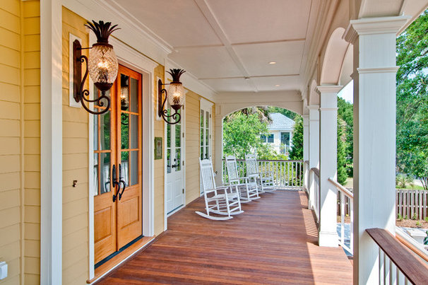Beach Style Porch by The Middleton Group