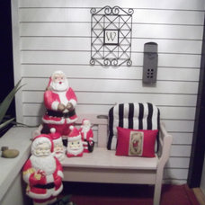 Eclectic Porch Front Porch Themes