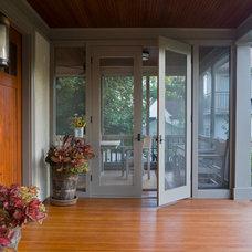 Traditional Porch by U+B Architecture & Design
