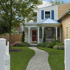 Traditional Porch by Christine Kelly / Crafted Architecture