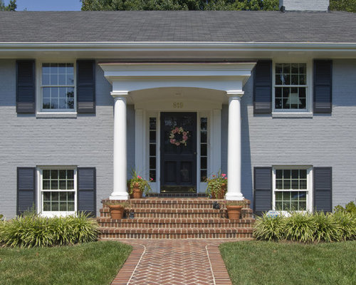 Flat Roof Portico Houzz