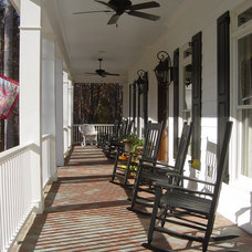 Traditional Porch by John Marshall Custom Homes