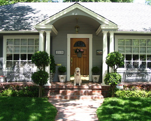 uncovered front porch ideas pictures remodel and decor