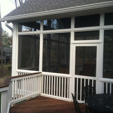 Traditional Porch by John Rogers Renovations, Inc.