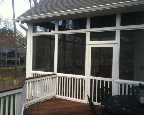 Gable screen porch ideas pictures remodel and decor for Gable screened porch