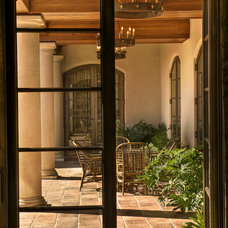 Mediterranean Porch by Gabriel Builders Inc.