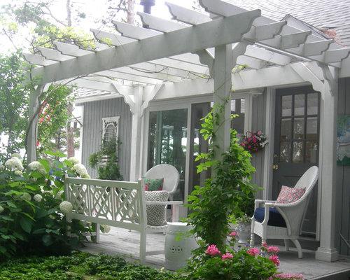 Small Back Porch Houzz