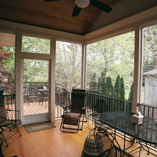 Traditional Porch by B E Selby Construction