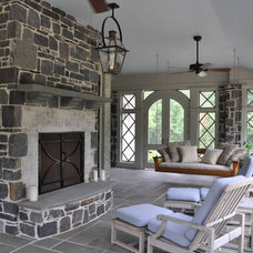 Traditional Porch by Cornerstone Construction