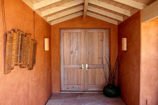 Mediterranean Porch by Change of Seasons - Gary Kernick