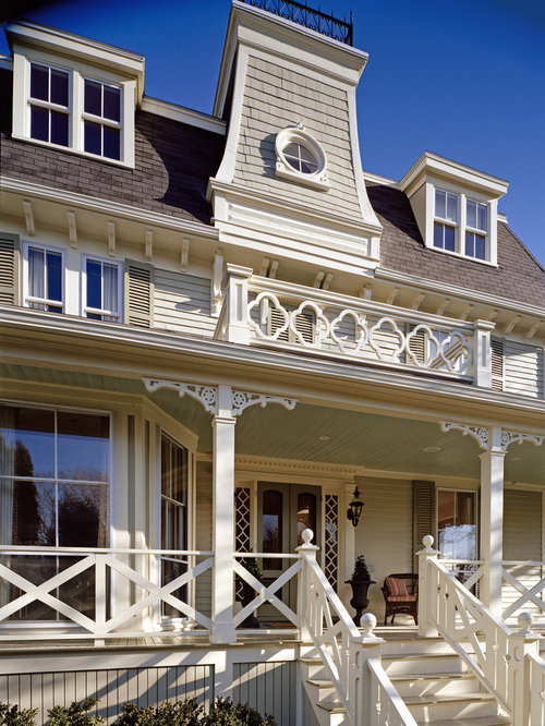 Wooden Porch Railing Houzz