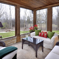 Traditional Porch by Fieldcrest Builders Inc