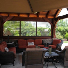 Traditional Porch by Weatherwell Elite - Aluminum Shutters