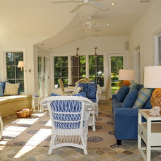 Beach Style Porch by place architecture:design