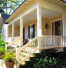 traditional porch by Cole Design Studio, LLC