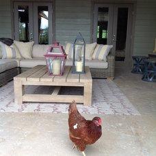 Contemporary Porch by Brett Marlo Designs