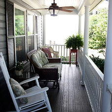 Traditional Porch by Redbud Construction Services