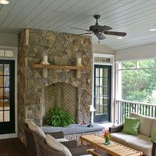 Traditional Porch by Shearman Associates PLC