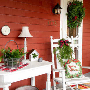 Farmhouse porch photo in Other