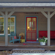 Eclectic Porch by Gordon Gregory Photography