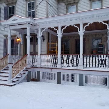 Gothic Revival Porch