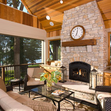 Traditional Porch by Alexander Design Group, Inc.