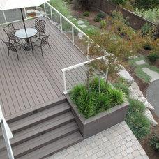 Contemporary Porch by Landscape East & West