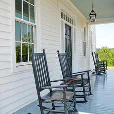 Farmhouse Porch by Custom Structures Inc