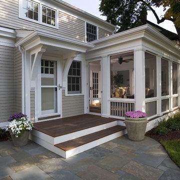 Greek Revival Remodel - Screened Porch