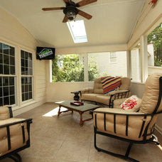 Contemporary Porch by Green Basements & Remodeling