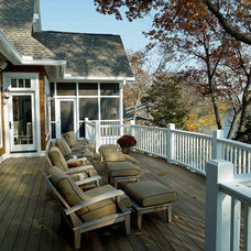 Traditional Porch by Thelen Total Construction
