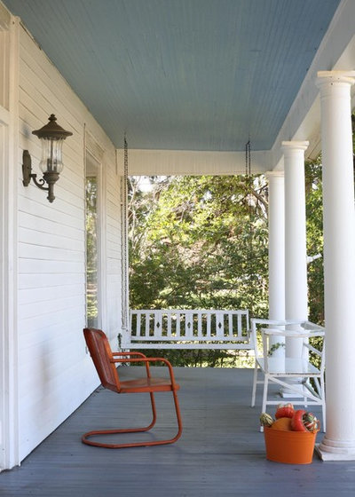 Traditional Porch by Coggan + Crawford Architecture + Design