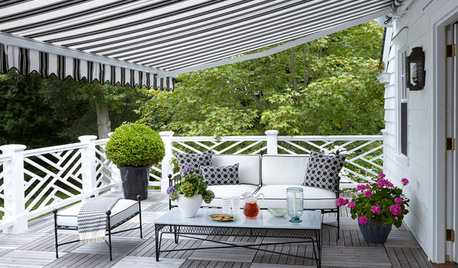 9 Stylish Shade Solutions for Patios and Small Garden Areas