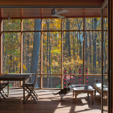 Contemporary Porch by McInturff Architects