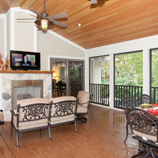 Contemporary Porch by Grosser & Company Remodeling