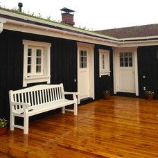 Farmhouse Exterior by SpetsParkDesign